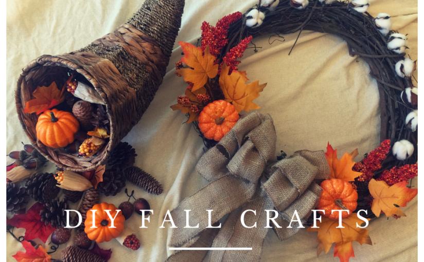 DIY Fall Decor &Spray